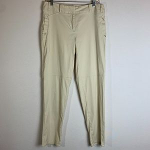 Black Label by Chico's Cream Pants 6